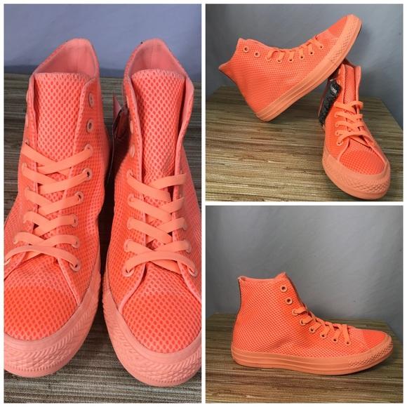c97474290d61 £Converse High Tops Hyper Orange CTS Chuck Taylor